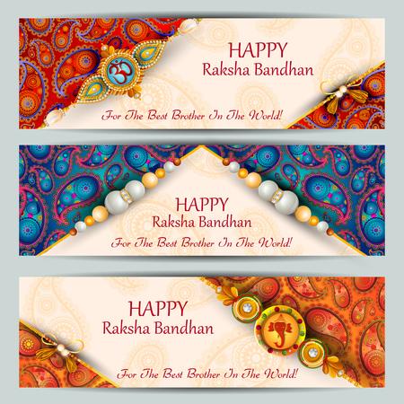 Rakhi background for Indian festival Raksha bandhan celebration