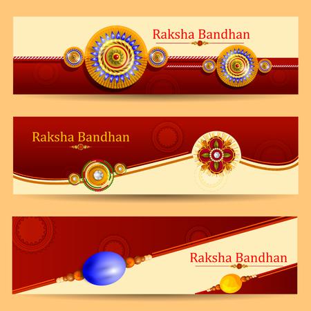 girl: Rakhi background for Indian festival Raksha bandhan celebration