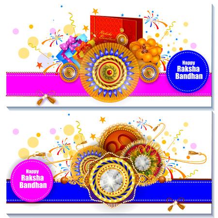 celebration background: Rakhi background for Indian festival Raksha bandhan celebration