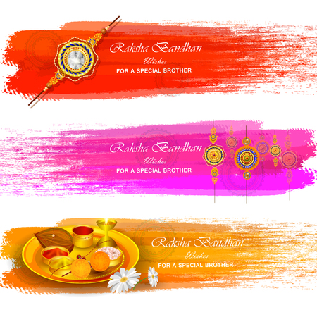 Rakhi background for Indian festival Raksha bandhan celebration