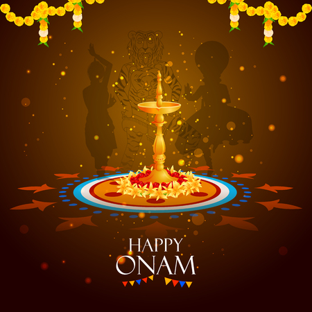 Happy Onam holiday for South India festival