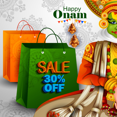 traditional culture: Happy Onam holiday for South India festival