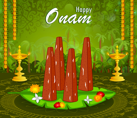ritual: Poorada Uttigal for Onam festival of Kerala