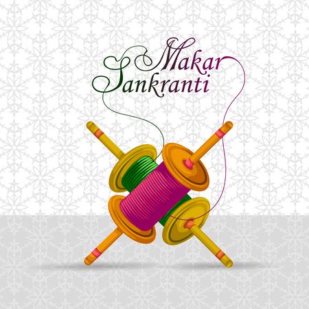 Happy Makar Sankranti background