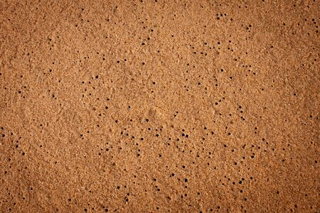 air nook in sand background Stock Photo - 9741986