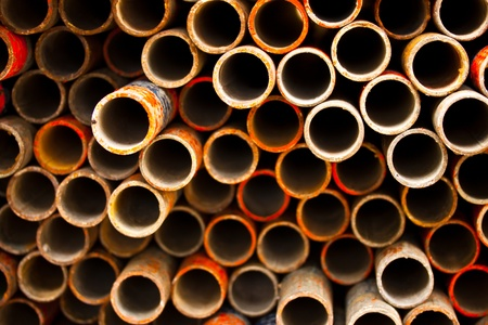 old pipe in background Stock Photo