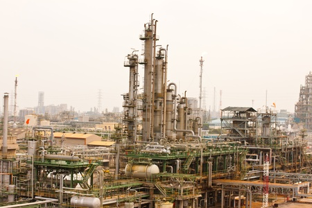Gas refineries plants