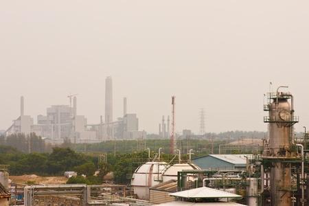 Gas refineries plants