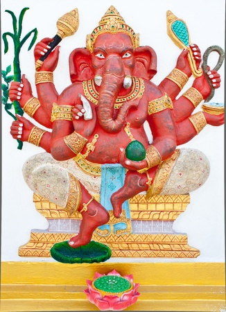 ancient elephant: Ganesh is angle of fortune Editorial