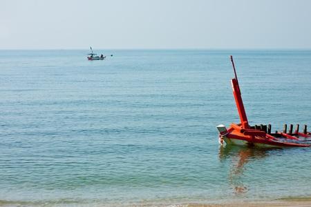 The ship sank. photo