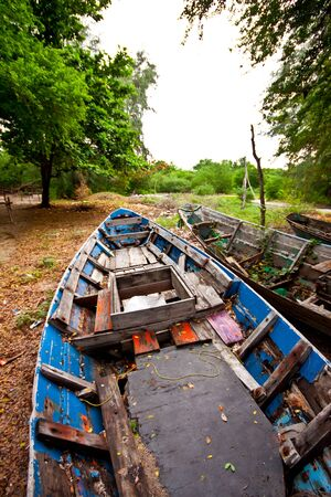 Old fishing boat Stock Photo - 10636958