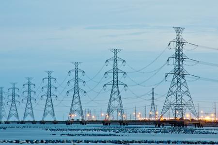 turbin: kraftverk Stockfoto