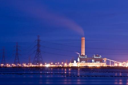 fuelling station: central eléctrica
