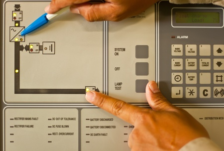 electrical component: control panel