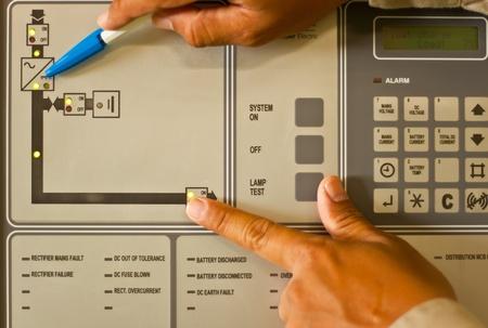 distribution board: control panel