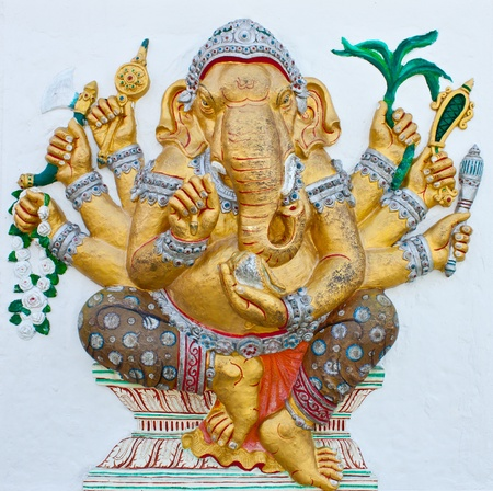 ganesh is the god of luck photo