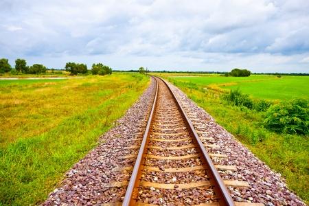 railway on field Editorial