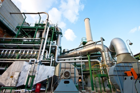 petrochemical plant Stock Photo - 11769763