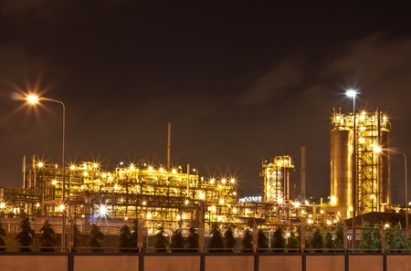 petrochemical plant Stock Photo - 11911029