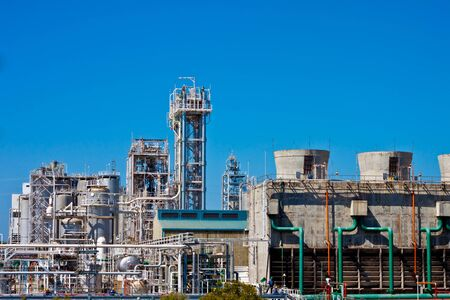 petrochemical plant Stock Photo - 11906272