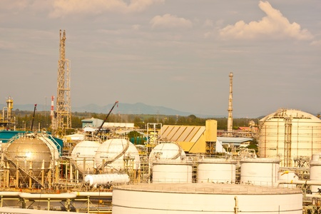Refinery in petrochemical thailand Stock Photo - 11928161