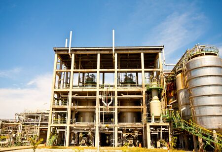 petrochemical plant Stock Photo - 11906260