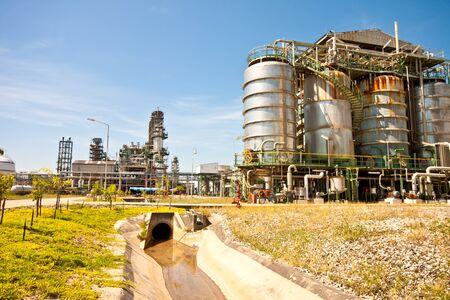 petrochemical plant Stock Photo - 11906258