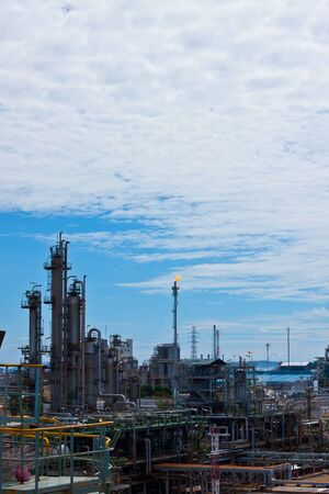 petrochemical plant Stock Photo - 11951594