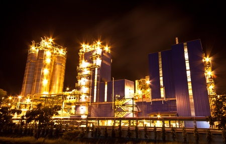 petrochemical plant Stock Photo - 11951593