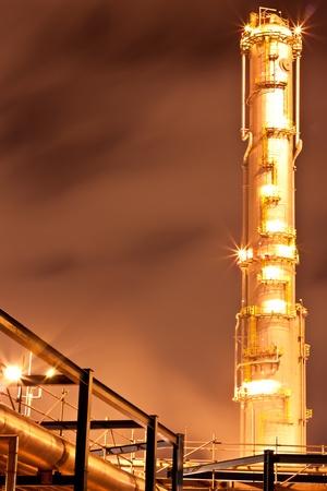 petrochemical plant Stock Photo - 11951611