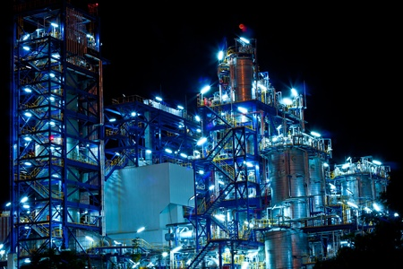 petrochemical plant Stock Photo - 11951586