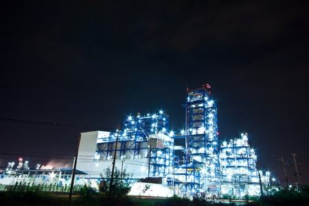 petrochemical plant