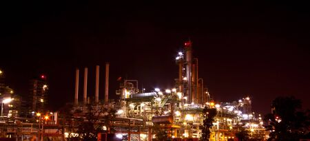 petrochemical plant Stock Photo - 12189388