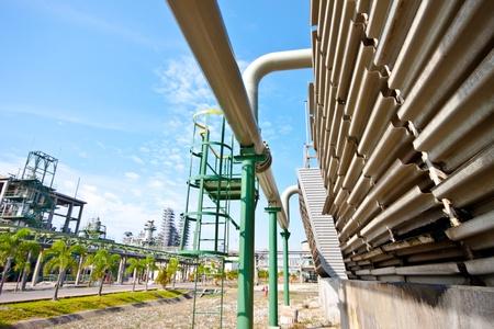 petrochemical plant Stock Photo - 12189393