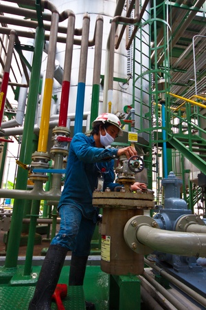 man power working in factory