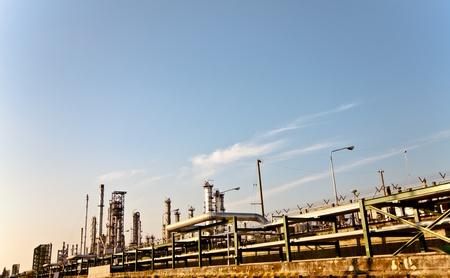 petrochemical plant Stock Photo - 12189407
