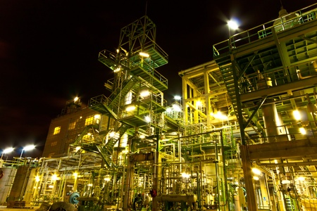 steel plant: petrochemical plant Editorial