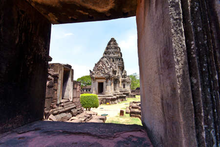 khmer architecture in phimai,Thailand. photo