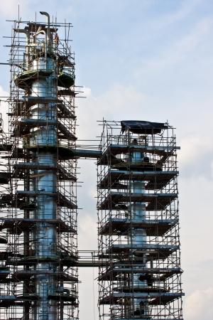 shut down: shut down for repair of petrochemical plant