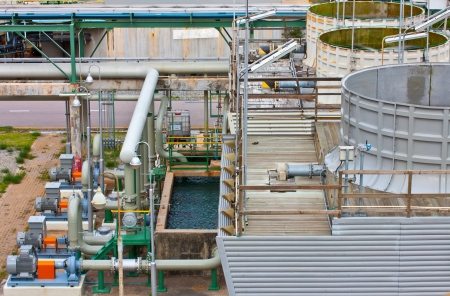 cooling unit in petrochemical plant