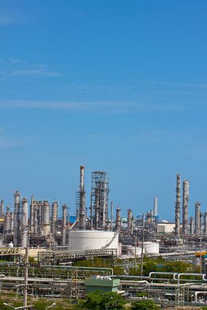 petrochemical plant complex in thailand