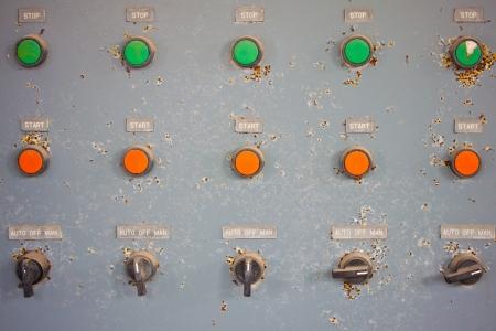 old control panel photo