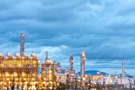petrochemical plant Stock Photo