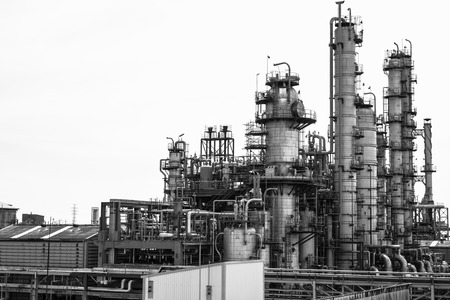 Distillation of petrochemical plant photo