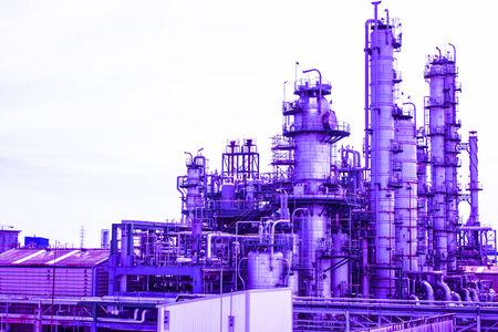 Column of petrochemical plant photo