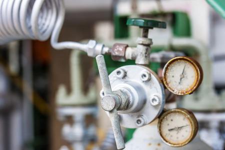 Instrument indicating pressure gauge photo