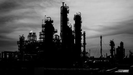 Petrochemical plant back ground photo
