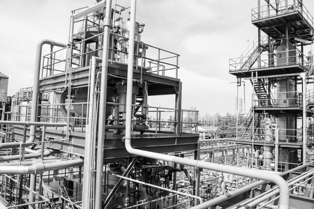 Petrochemical plant photo