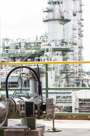 inoperative: Control valve or pressure regulator in water and cooling water process