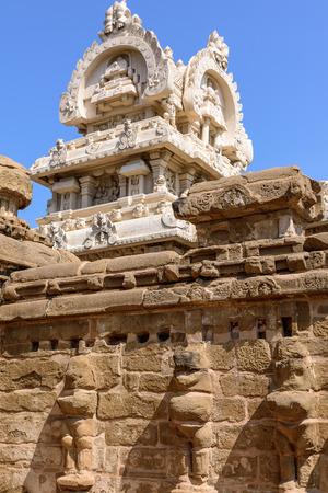 tamil nadu: India, Hindu temple in Kanchipuram, Tamil Nadu, India